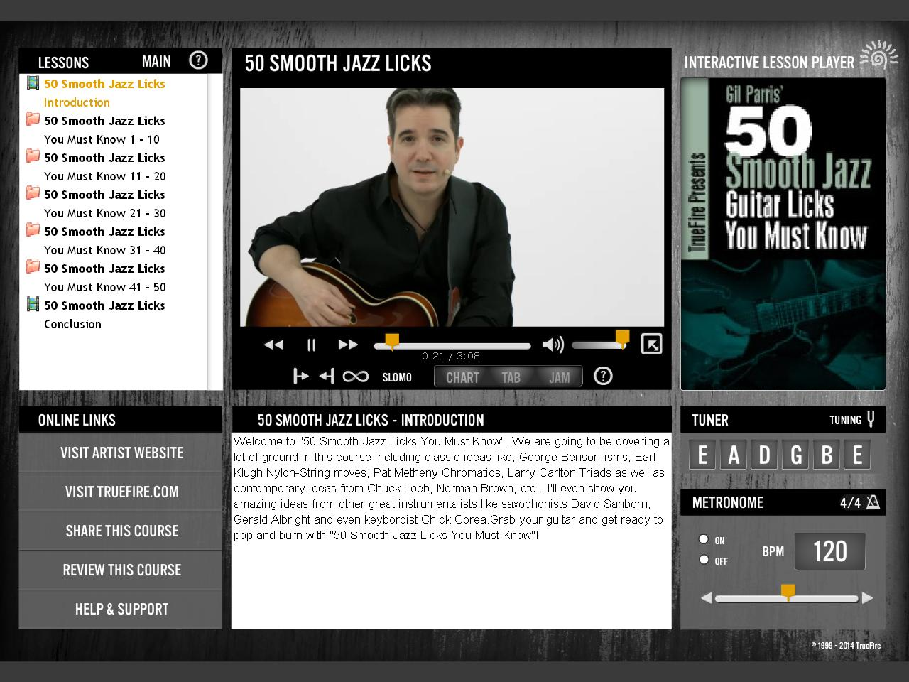 Truefire - Gil Parris' 50 Smooth Jazz Guitar Licks You Must Know (2014)