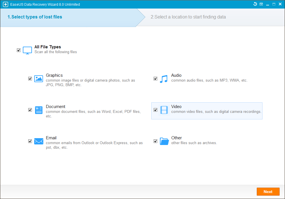 EaseUS Data Recovery Wizard 8.0.0 Unlimited Multilingual