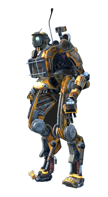 TitanFall Marvin (OBJ with Textures)