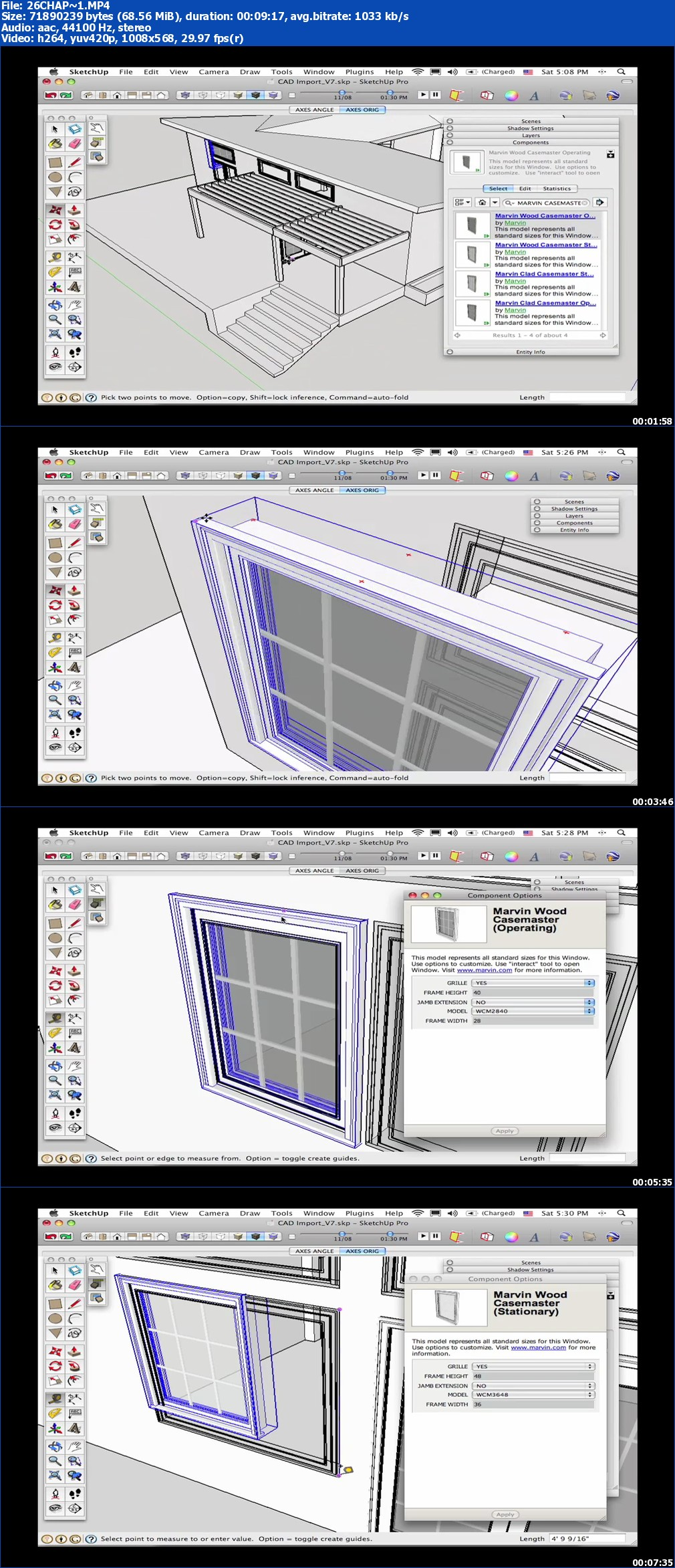 Peachpit Press - Google SketchUp Pro Series: SketchUp + CAD