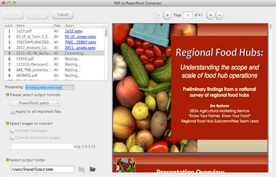 Lighten PDF to PowerPoint 2.0.0
