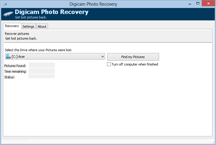 Digicam Photo Recovery Pro 1.5.0.4