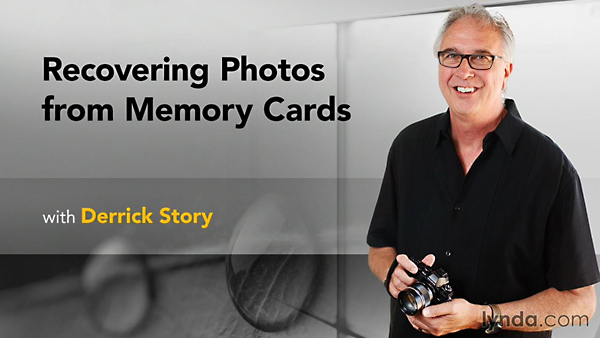 Lynda - Recovering Photos from Memory Cards
