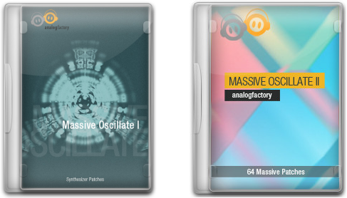 Analogfactory Massive Oscillate I and II