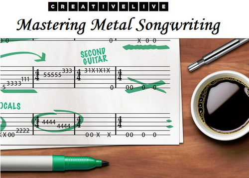 creativeLIVE - Mastering Metal Songwriting with Eyal Levi