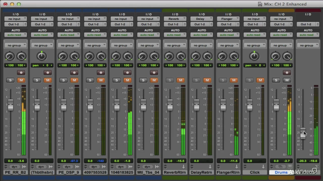 Ask Video - Pro Tools 11 100: New Features Explored (2014)