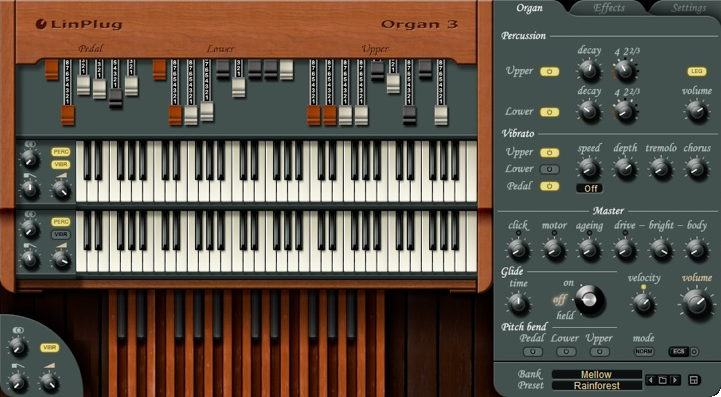 LinPlug Organ 3 v3.2.1 (Win / Mac OS X)