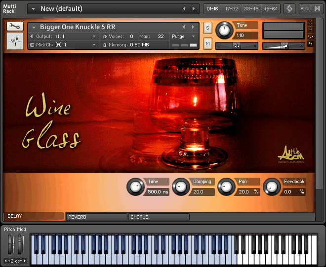 Atom Hub Wine Glass KONTAKT
