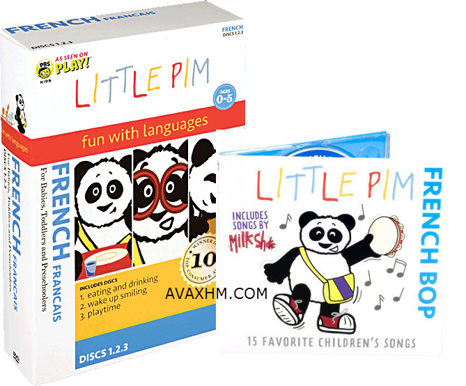 Julia Pimsleur Levine - Little Pim: French for Little Kids Complete Set