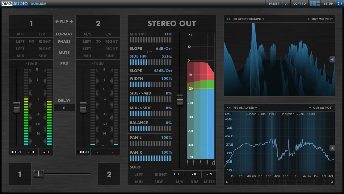 DMG Audio Dualism 1.01 (Win/Mac)