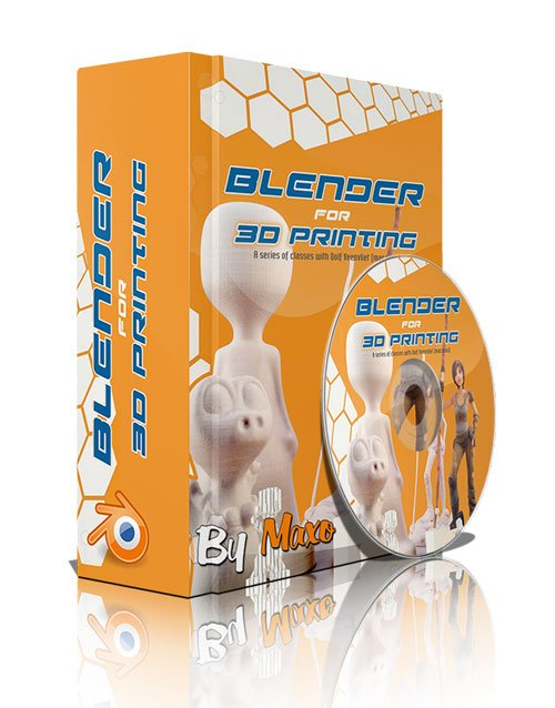 DVD Training 12: Blender for 3D Printing