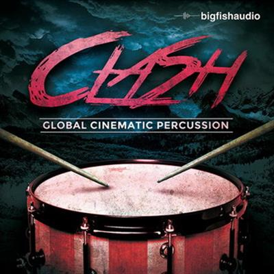 Big Fish Audio Clash Global Cinematic Percussion MULTiFORMAT DVDR-DYNAMiCS