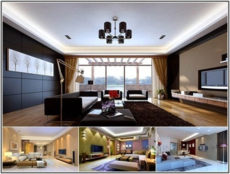 Spacious Living Room Collection