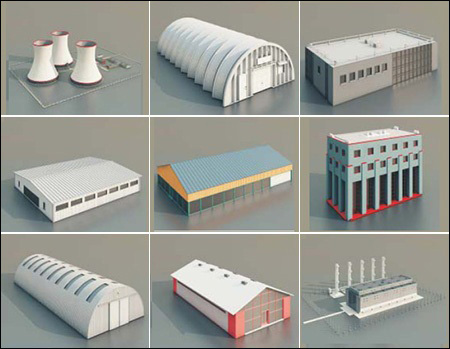 Warehouses And Factories Collection