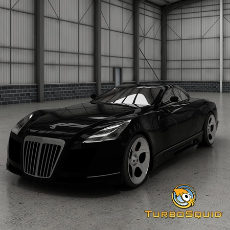 Turbosquid - Maybach Exelero