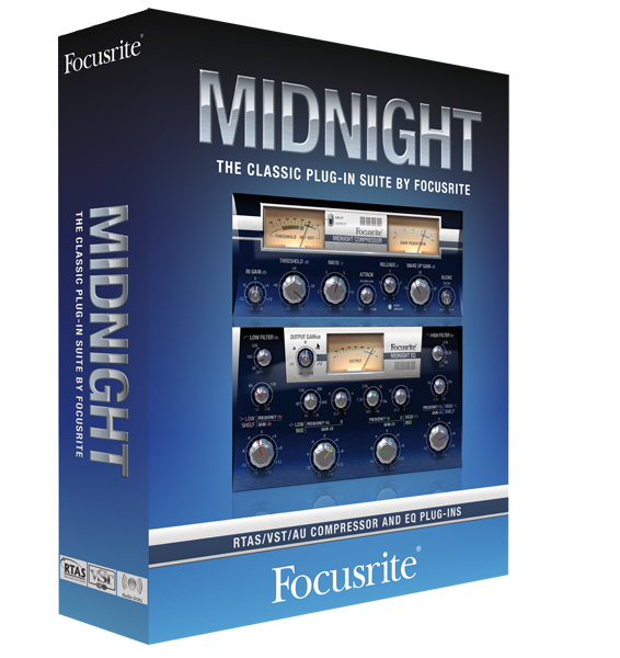 Focusrite Midnight Plug-in Suite 1.6 (Win/Mac)