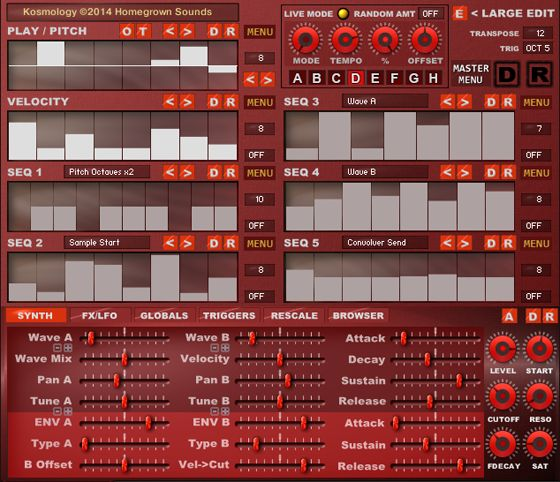 Homegrown Sounds Kosmology Evolution KONTAKT