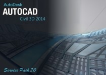 Autodesk AutoCAD Civil 3D 2014 SP2