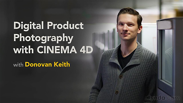 Lynda - Digital Product Photography with CINEMA 4D