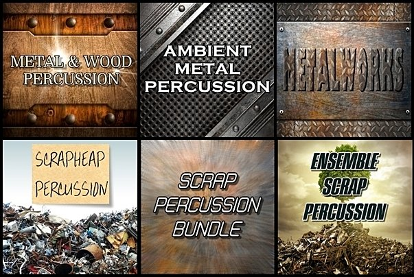 TD Samples Scrap Percussion Bundle KONTAKT