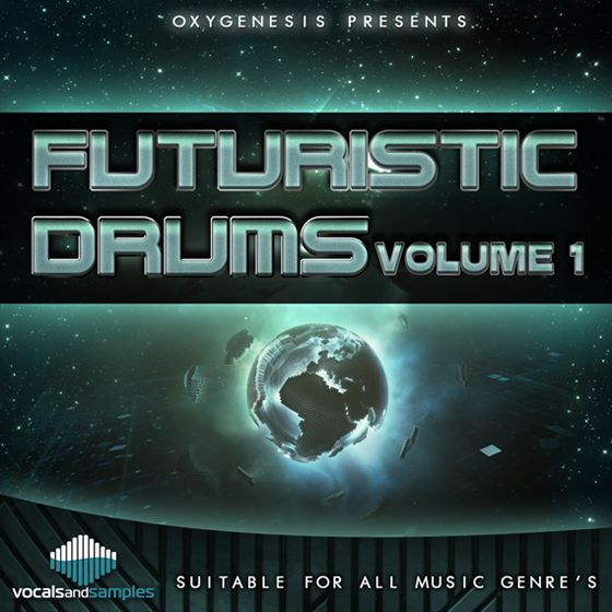 Vocals and Samples Futuristic Drums Vol.1
