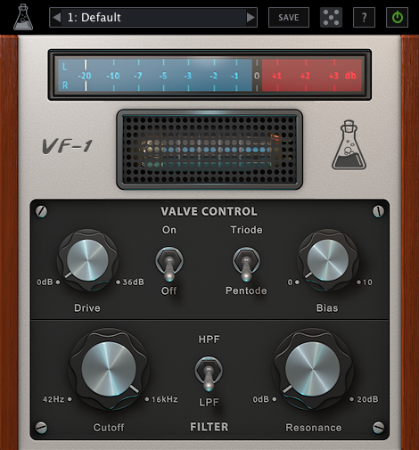 AudioThing Valve Filter VF-1 v1.2.0 (Win / Mac OS X)