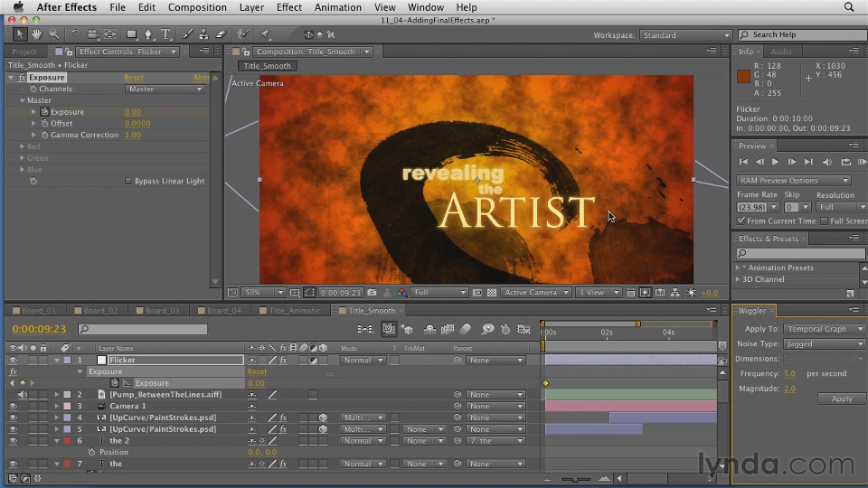 After Effects CS5: Creating Motion Graphics