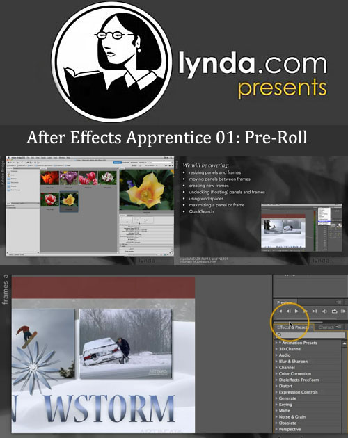 After Effects Apprentice 01: Pre-Roll