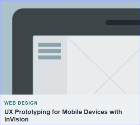 Tutsplus - UX Prototyping for Mobile Devices with InVision