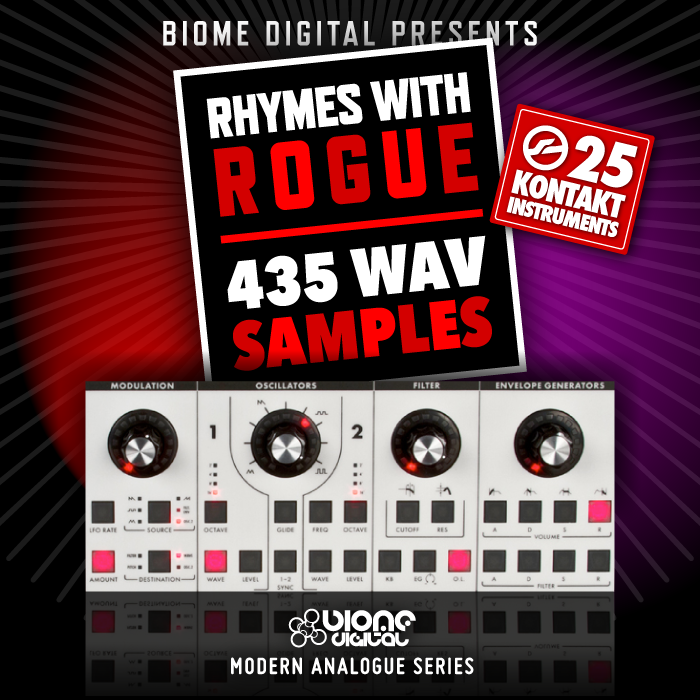 Biome Digital Rhymes With Rogue Bass KONTAKT