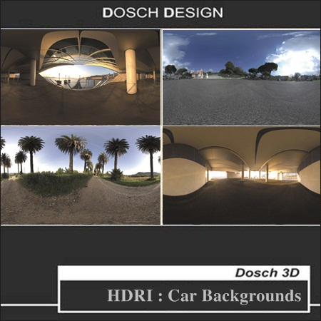 DOSCH DESIGN – HDRI: Car Backgrounds