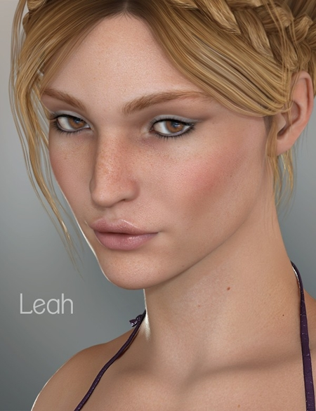 Poser DAZ Leah for V5