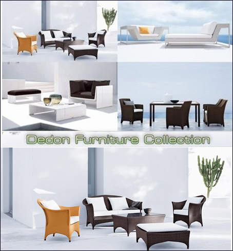 3D Models of Dedon Furniture