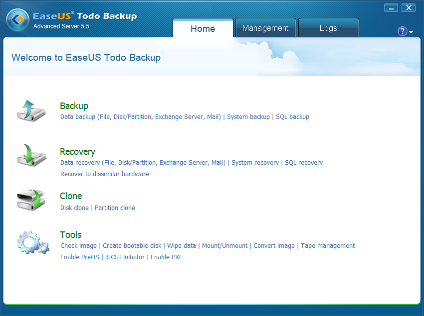 EaseUS Todo Backup Advanced Server 7.0 Multilingual