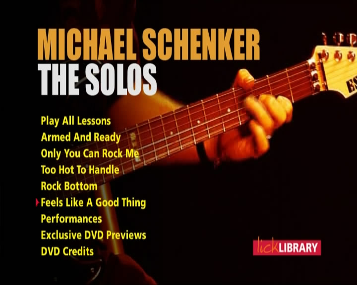 Learn to Play Michael Schenker - The Solos [repost]