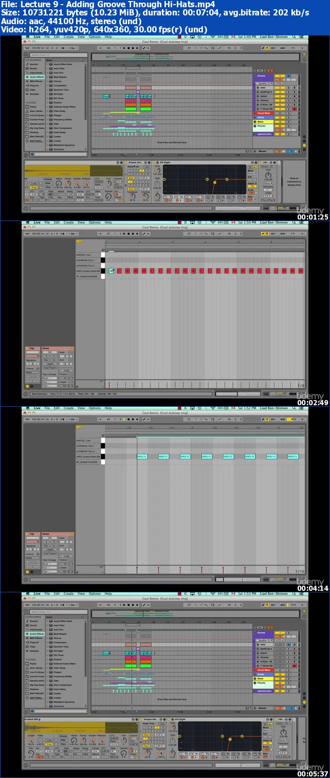 Udemy - Hacking Ableton: Tips and Tricks for Ableton Live