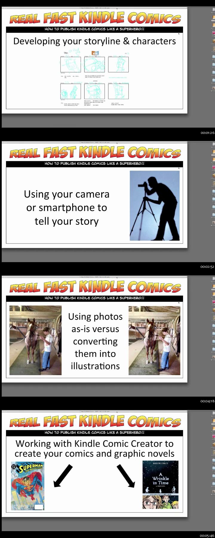 SkillFeed - How To Create and Publish Comics