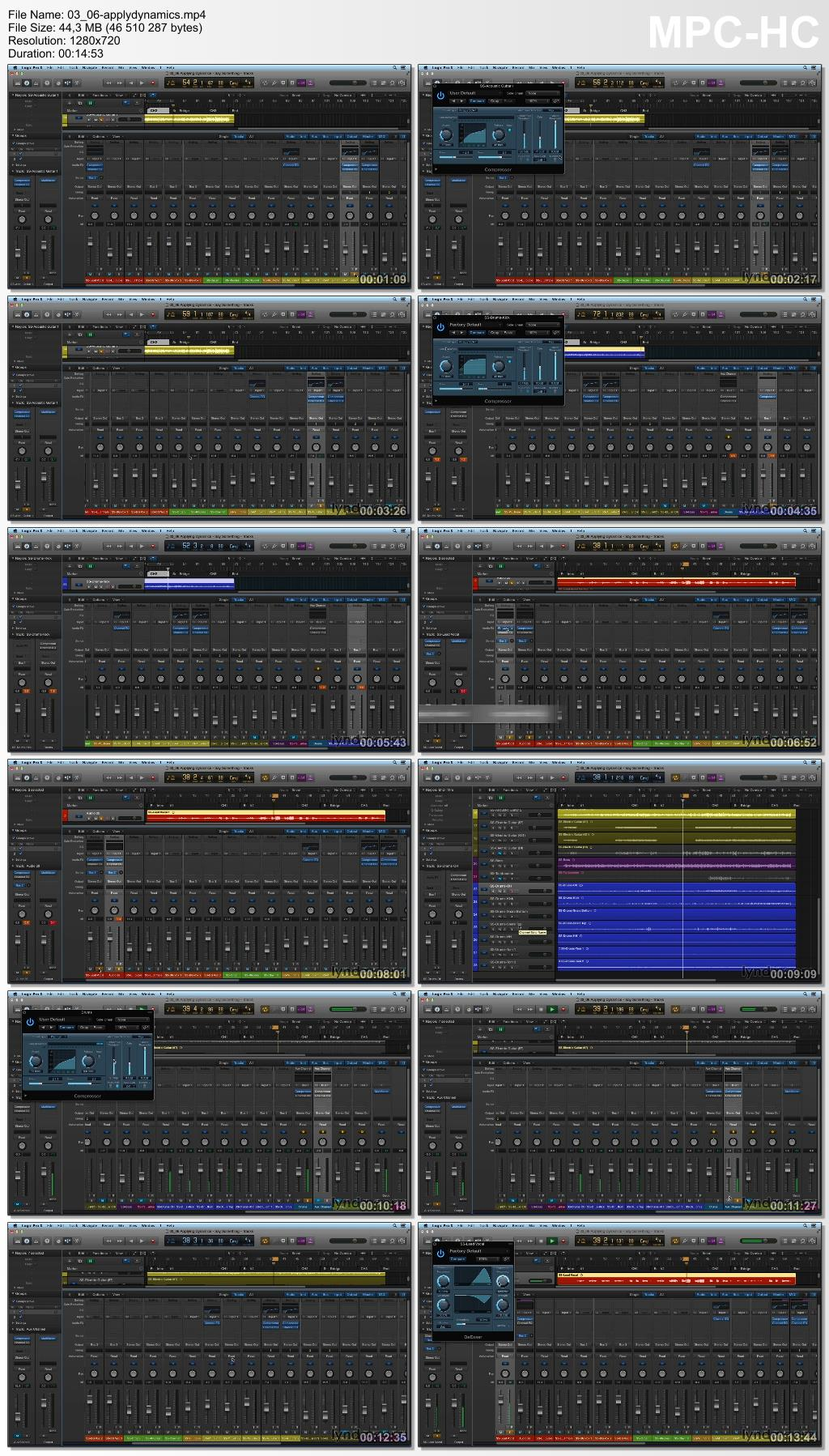 Lynda - Mixing and Mastering with Logic Pro X