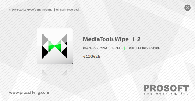 Prosoft MediaTools Wipe 1.2 Build 130626