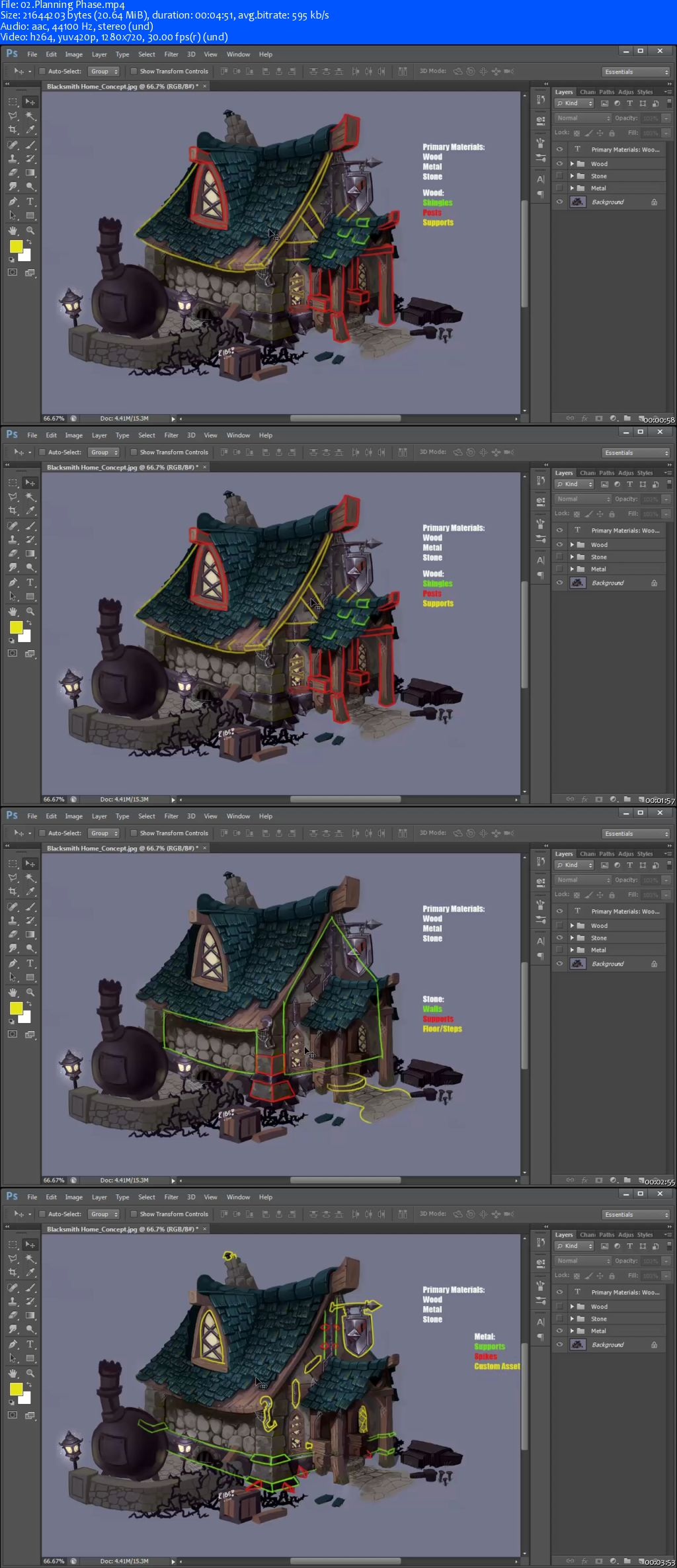 3DMotive – Hand Painted Enviro Texturing Volume 1