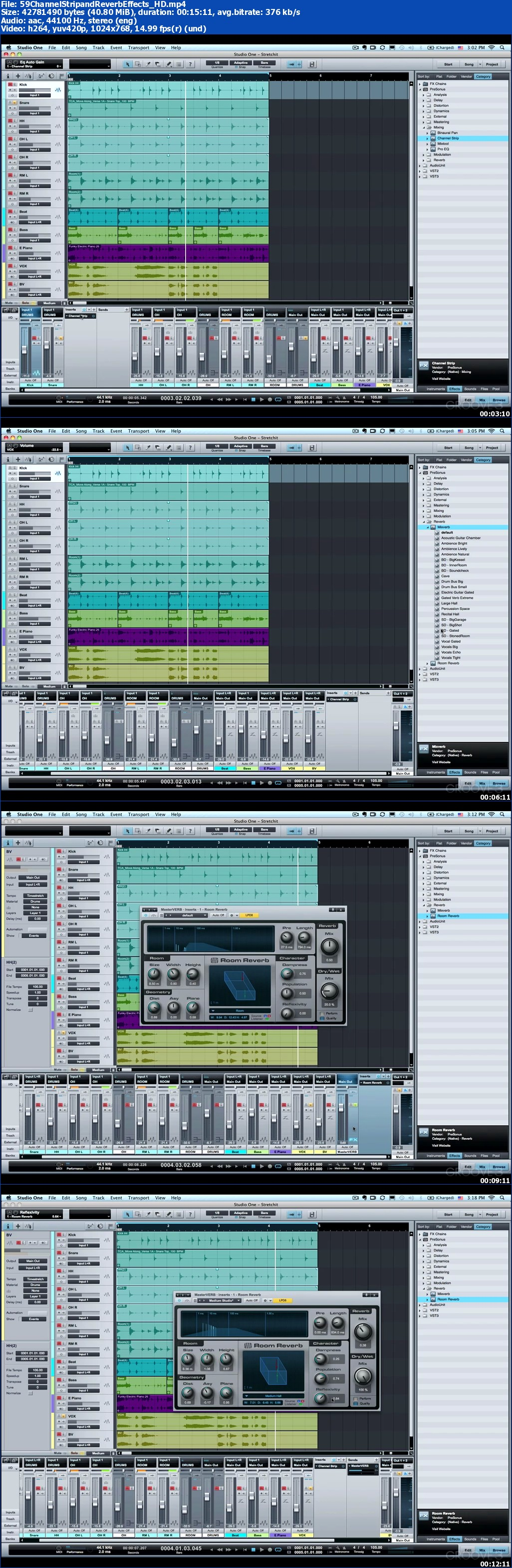 Groove3 - Studio One Advanced