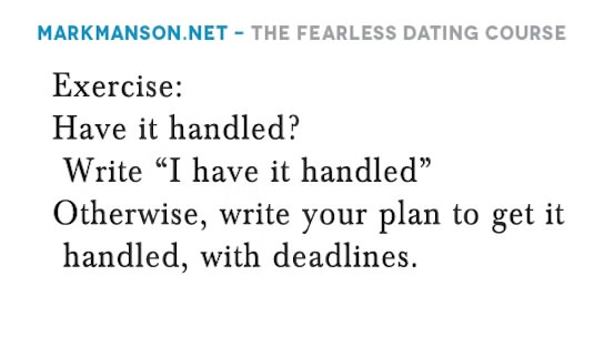 Mark Manson - The Fearless Dating Course