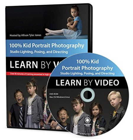 Peachpit Press - 100% Kid Portrait Photography