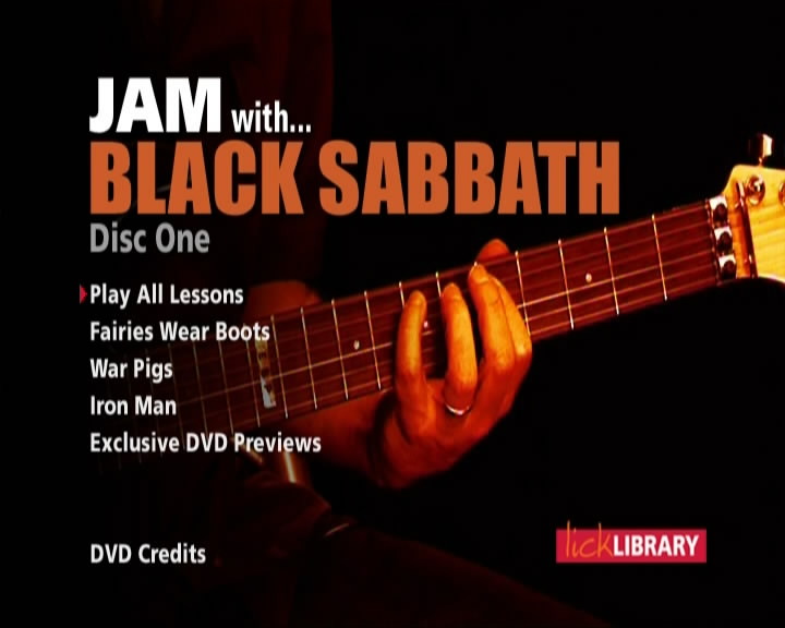 Lick Library - Jam with Black Sabbath [repost]
