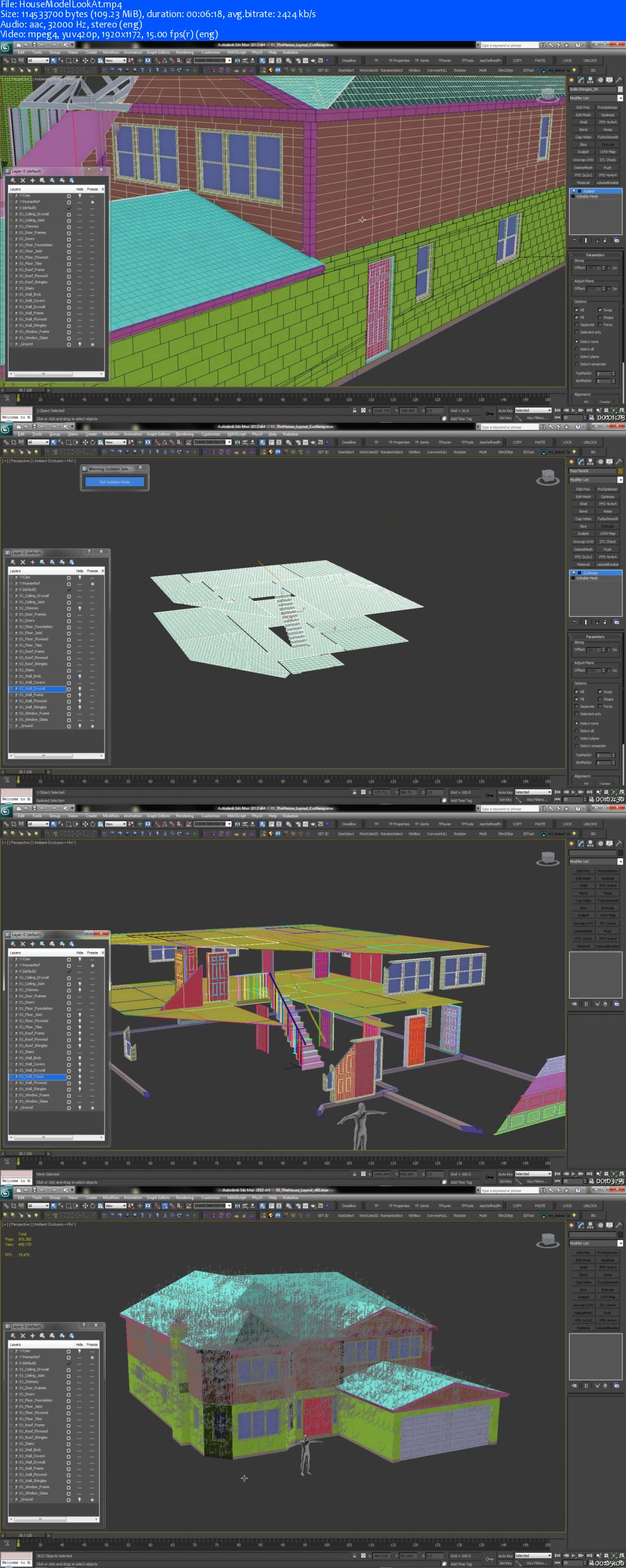 The House FX – Thinking Particles in 3dsmax