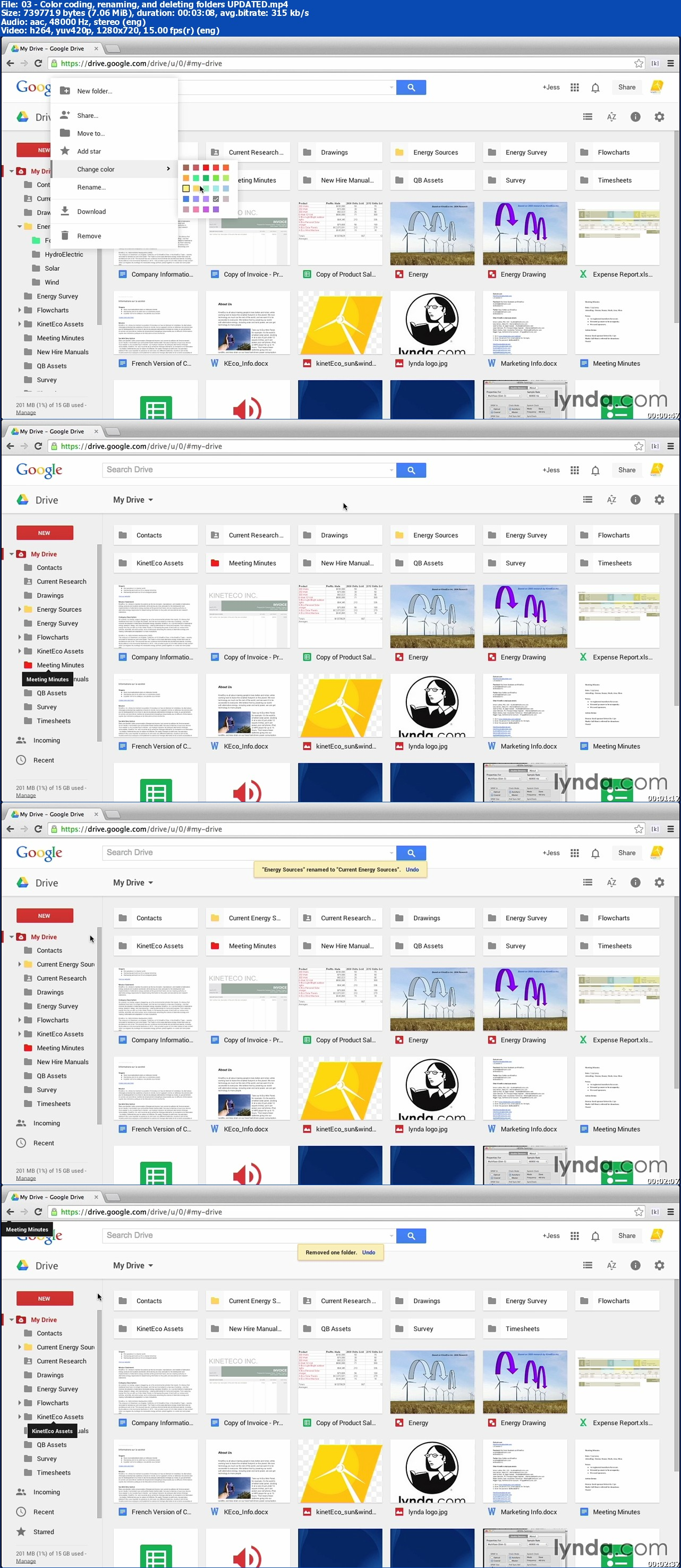 Lynda - Google Drive Essential TrainingUpdated (Sep 23, 2014)