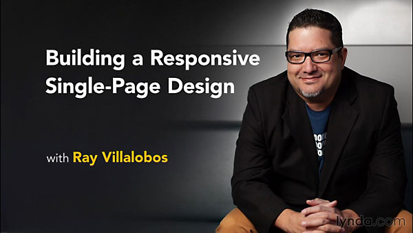 Lynda - Building a Responsive Single-Page Design