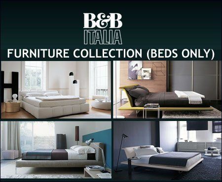B & B Italia Furniture Collection (Beds Only)
