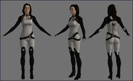 Miranda from Mass Effect 2 Lightwave & FBX