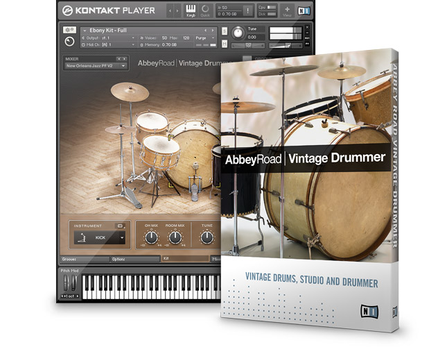 Native Instruments Abbey Road Vintage Drummer KONTAKT